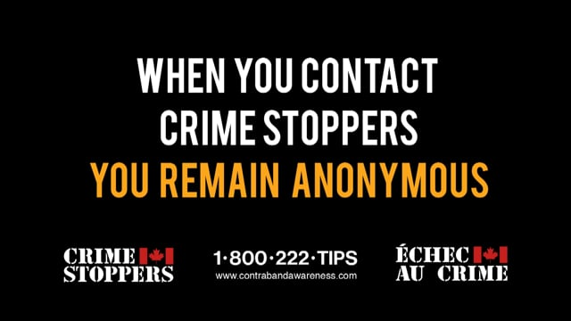 Crime stoppers / Contraband Tobacco